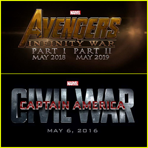 Marvel Reveals Title Cards For All Upcoming Films Including 'Avengers' & 'Captain America'!