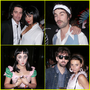Matthew Morrison Goes 'Pulp Fiction' For His Halloween Bash