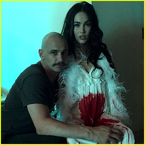 Megan Fox Gets Covered in Blood for a James Franco Project
