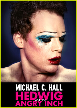 Michael C. Hall Gets All Glittered Out in New 'Hedwig' Posters!