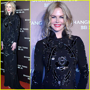 Nicole Kidman Goes Total Glam for Shanghai Tang Anniversary