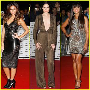 Nicole Scherzinger, Jessie J & Eve Heat Up the Red Carpet at MOBO Awards 2014!