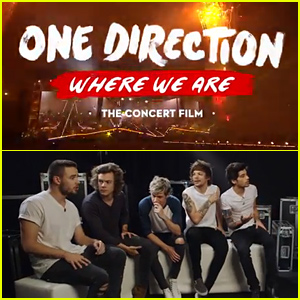 One Direction Give Us a Sneak Peek at 'Where We Are' Concert Film! (Exclusive Video & Photos)