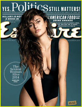Penelope Cruz Named 'Esquire' Magazine's Sexiest Woman Alive 2014!