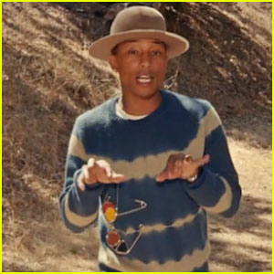 Pharrell Williams' 'Gust of Wind' Music Video Makes a Fashion Statement with Safety Pins!