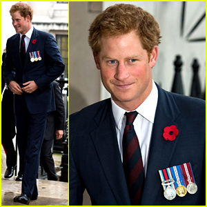 Prince Harry Spends the Day Remembering Brave Military Servicemen & Women