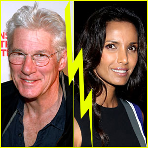Richard Gere & Padma Lakshmi Split After Six Months of Dating