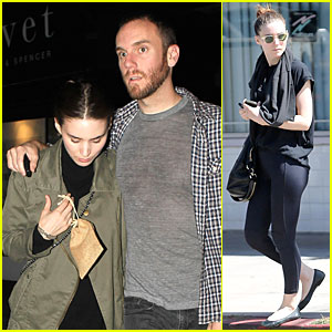 Rooney Mara Gets Ready To Dance In 'Ziggy'!