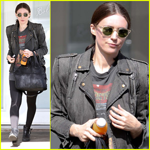 Rooney Mara is Rocker Chic After Taking a Ballet Class