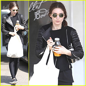 Rooney Mara Is Working Hard For a Ballet Body!
