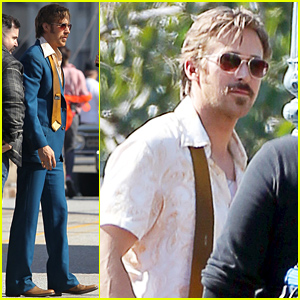 Ryan Gosling Continues Filming 'Nice Guys' After Becoming a First Time Dad!