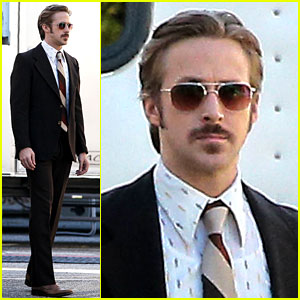 Ryan Gosling Spotted for First T