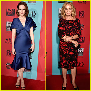 Sarah Paulson Had to Stretch Her Shoes Before 'American Horror Story: Freak Show' Premiere!