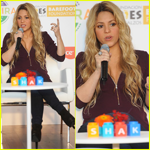 Shakira Launches Her New Fisher Price Toy Line in Barcelona!