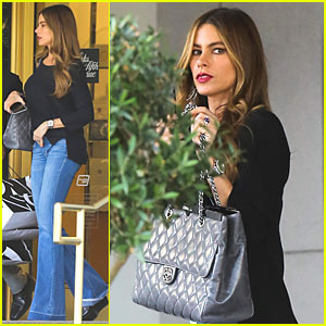 Sofia Vergara Shops Till She Drops at Saks Fifth Avenue