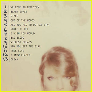 Taylor Swift Reveals '1989' Track Listing on Instagram!
