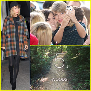 Is Taylor Swift Releasing 'Out of the Woods' Next Week?