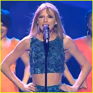 Taylor Swift Shows Off Her Best Dance Moves for 'Shake it Off' on 'X Factor Australia'! (Video)