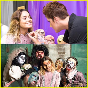 Vanessa Hudgens Gets Scary & Spooks Unsuspecting Fans - Watch Here!