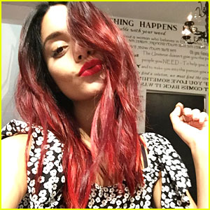 Vanessa Hudgens is Ready for Fall with Red Hair!