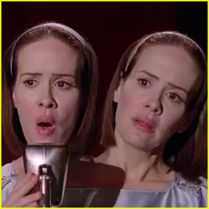 sarah paulson sings �criminal� on �american horror story