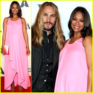 Zoe Saldana Talks About Halloween Costumes for Her Babies!