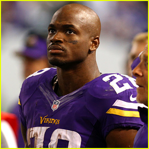 NFL Player Adrian Peterson Suspended Without Pay For Remainder of NFL Season