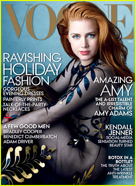 Amy Adams Covers 'Vogue' & Answers the Mag's 73 Questions!