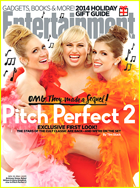 Anna Kendrick & Rebel Wilson Give 'EW' A Colorful Makeover For 'Pitch Perfect 2'