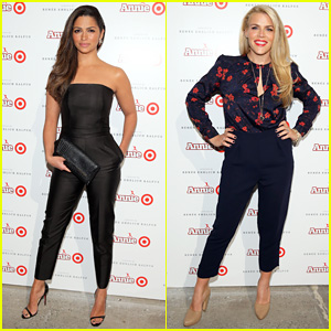 Camila Alves & Busy Philipps Launch 'Annie' for Target in NYC!