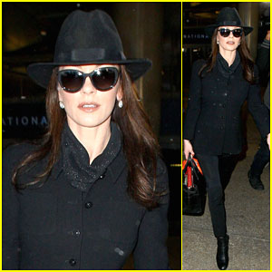 Catherine Zeta-Jones Finishes Up 'Dad's Army' & Heads Back to Los Angeles