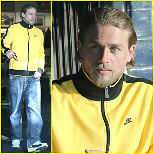 Charlie Hunnam Has Some Downtime After 'Sons of Anarchy' Finishes Filming Its Final Season