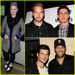 Chris Lowell Gets Support from Celeb Pals at 'Beside Still Waters' LA Screening!