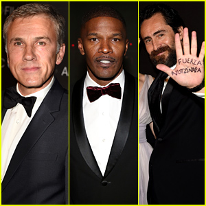 Christoph Waltz & Jamie Foxx Step Out for LACMA Art + Film Gala 2014
