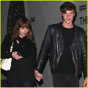Dakota Johnson & Boyfriend Matthew Hitt Hold Hands On Their Date Night!