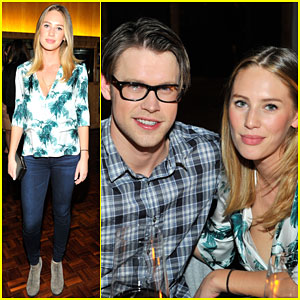Dylan Penn & Chord Overstreet Buddy Up for a Night with Vogue