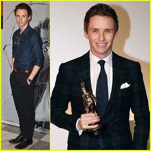 Eddie Redmayne Gets Honored at the Torino Film Festival 2014!