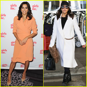 Eva Longoria Gets Honored at the Girls Inc. Los Angeles Celebration Luncheon 2014!