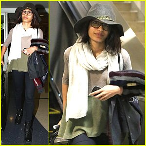Freida Pinto Was In a New York State of Mind Before LAX Arrival