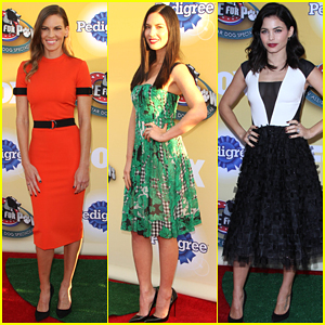 Hilary Swank & Olivia Munn Show Their Support at Cause for Paws