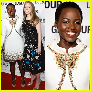 Honorees Lupita Nyong'o & Chelsea Clinton Look Amazing at the Glamour Women of the Year Awards 2014