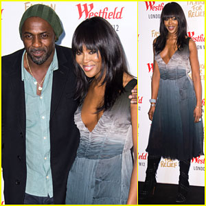 Idris Elba & Naomi Campbell Heat Up Fashion For Relief