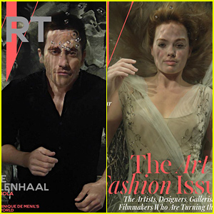 Jake Gyllenhaal & Margot Robbie Are Completely Submerged Underwater for 'W' Magazine