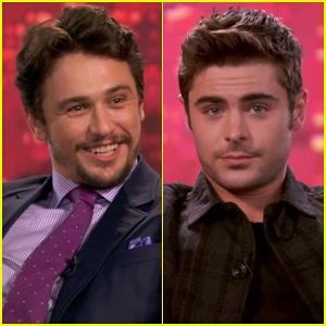 Zac Efron Chats About Masturbation with James Franco in New 'The Interview' Clip - Watch Now!