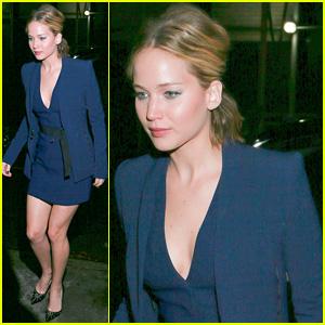 Jennifer Lawrence Jokes That Liam Hemsworth & Josh Hutcherson Gave Her Herpes (Video)
