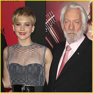 Jennifer Lawrence Gets Compared to Jesus Christ By Donald Sutherland!