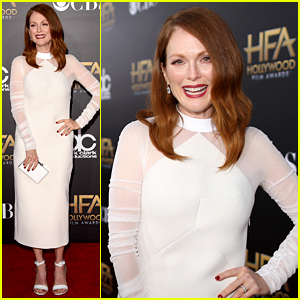 Julianne Moore Takes Home the Best Actress Award at the Hollywood Film Awards 2014