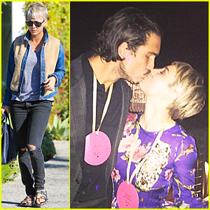 Kaley Cuoco Kisses Husband Ryan Sweeting During Early Surprise Birthday Party