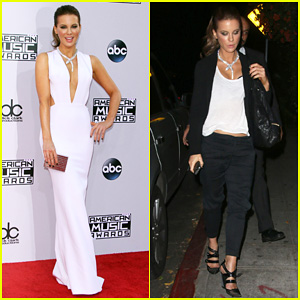 Kate Beckinsale Grabs Dinner with Hubby Len Wiseman After Introducing One Direction at AMAs 2014!