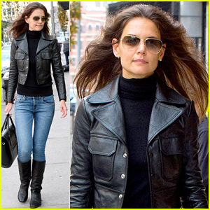 Katie Holmes Wants You to Know That She's Very Happy Right Now